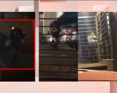 """Supuesta jueza de """"Yo me llamo"""" filmada bajando de vehículo de alta gama"""