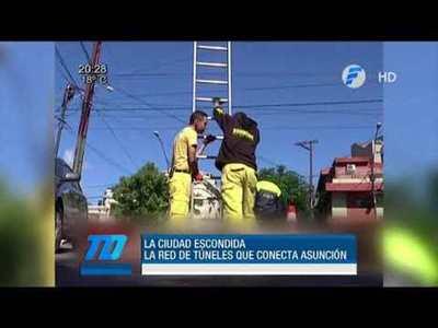 Recorrimos la red de túneles en Asunción