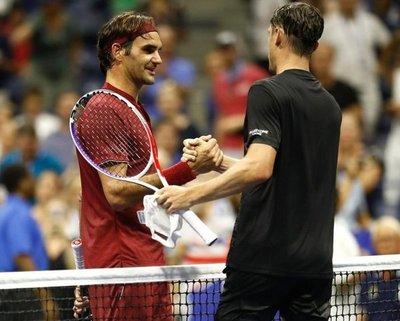 Federer se estrella en octavos del US Open
