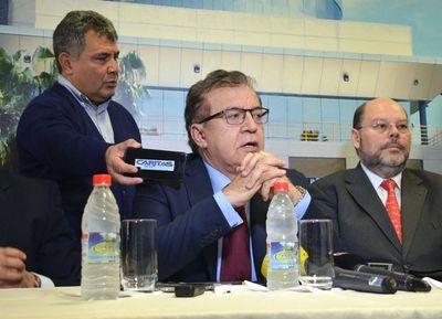 """Nicanor Duarte: """"Argentina nos debe US$ 110 millones por uso de energía"""""""