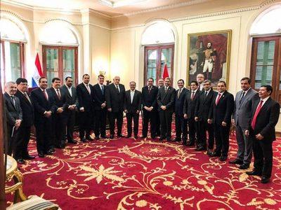 El Presidente se reunió con gobernadores