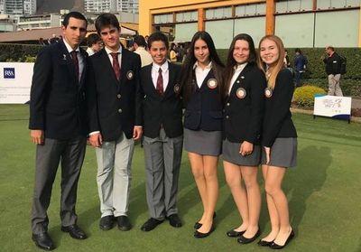 Golfistas paraguayos compiten en Perú