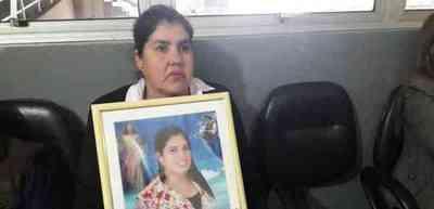 Continúa juicio por crimen de Cinthia Carolina