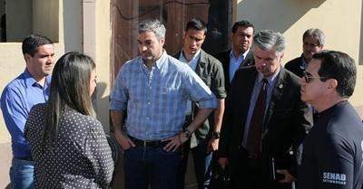 Presidente felicita a la Senad y fiscalía por mega operativo contra el narcotráfico