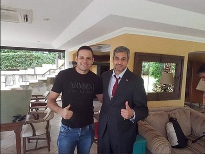"""""""Esa foto es en mi casa, pero no conozco a esa persona"""", dice Marito"""