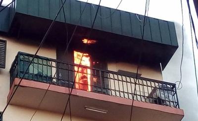 HOY / Reportan principio de incendio en edificio céntrico