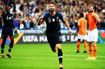 Francia superó como local a Holanda