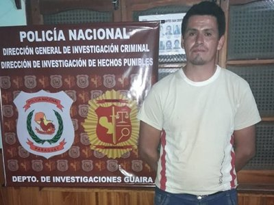 Fiscalía imputa a sospechoso de cuádruple homicidio en Guairá
