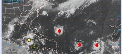 """Florence se convierte en """"extremo peligroso"""" en su camino hacia EE.UU."""