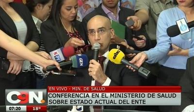 Ministro de Salud denuncia negociado con medicamentos