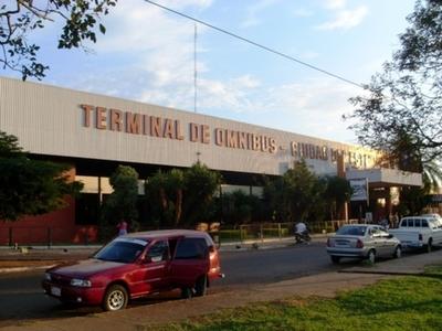 Terminal de ómnibus de CDE está sin agua hace días