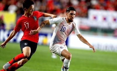 HOY / Corea del Sur y Chile brindan un amistoso intenso en el que faltó el gol