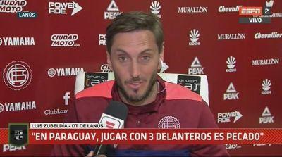 """""""En Paraguay, jugar con tres delanteros..."""""""