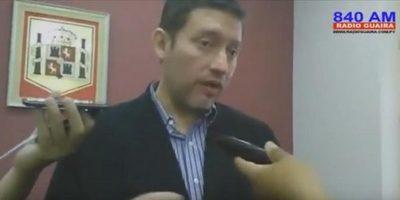 Sacaron al Dr Gustavo Navarro candidatura a diputado