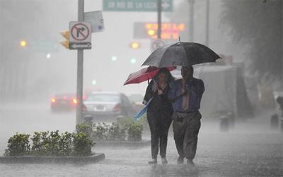 Meteorología alerta a 8 departamentos