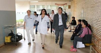 Gerente de Tesãi constata carencias en hospital de Hernandarias