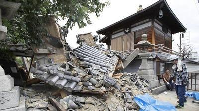 Japón castigada por la naturaleza con terremotos y tifones