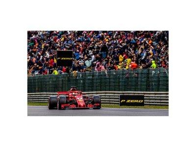 Vettel gana GP de Bélgica y recorta puntos a Hamilton
