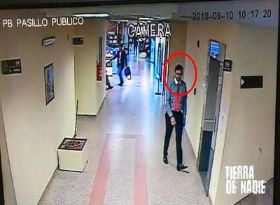 """Sospechosa misión de """"compueblano"""" de Cuevas en Tribunales de Paraguarí"""