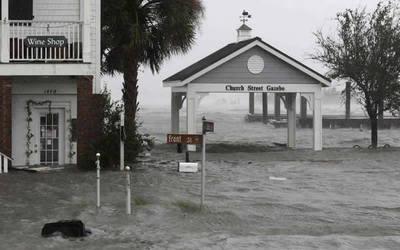 """Florence sigue causando """"inundaciones catastróficas"""" en la costa este de EE.UU"""