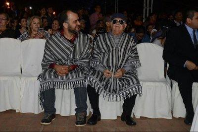 Quemil Yambay recibido entre gritos y aplausos en Ypacaraí