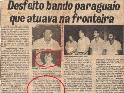 """El """"Doctor Quintana"""" fue sindicado de liderar banda criminal en el Este"""
