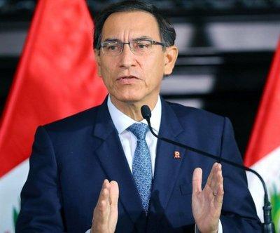 Presidente abre la puerta a disolución del parlamento peruano