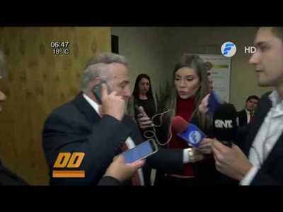 González Daher deberá presentarse el 1 de octubre