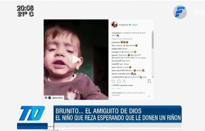 Nicky Jam y otros artistas comparten video de la oración de Brunito