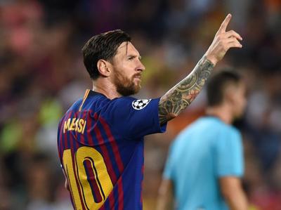 Messi alcanza un nuevo récord en la Champions League