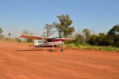 Probaron el aeródromo municipal de San Ignacio