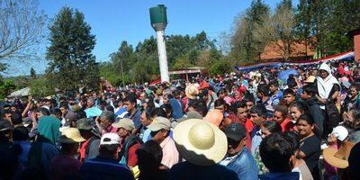 Lampa cede 30 hectáreas a mineros de paso Yobai