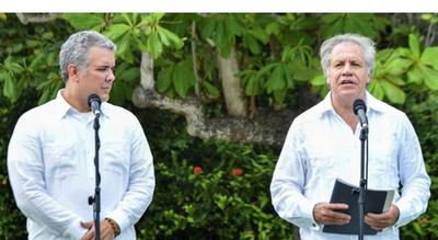 """Crisis: Colombia sugiere pensar """"todas las opciones"""""""