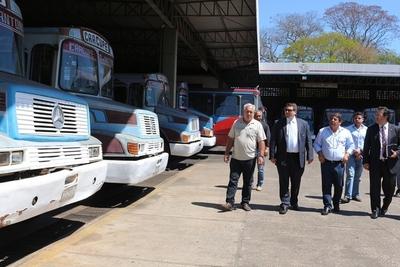 Empresarios de transporte de corta distancia presentaron sus pedidos a Dinatran