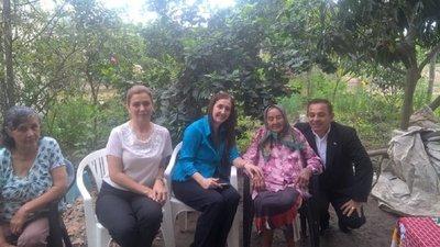 Consulado paraguayo en Formosa regularizó situación de anciana de 108 años