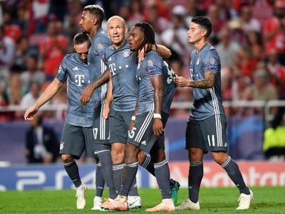 Benfica sucumbe ante el poderío bávaro