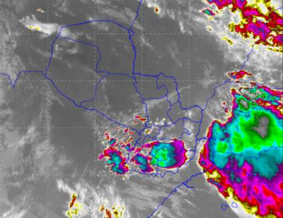 Alerta de tormentas para el Sur y Centro del país