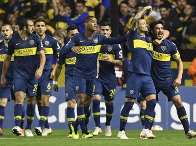 Boca Juniors saca ventaja de dos goles en la ida ante Cruzeiro