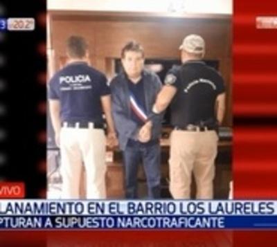 Capturan a capo narco del Comando Vermelho en Asunción