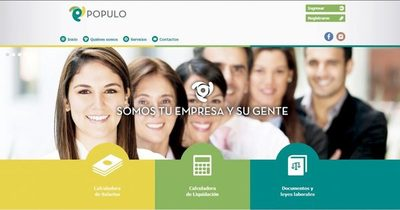 Web facilita gestión entre empleador y empleado