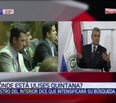 Si Ulises Quintana no se entrega, redoblarán la búsqueda