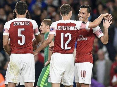 Arsenal arranca con goleada y el Milan deja dudas