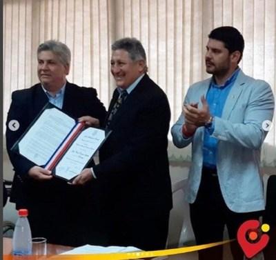 Romerito es ciudadano ilustre de Asunción