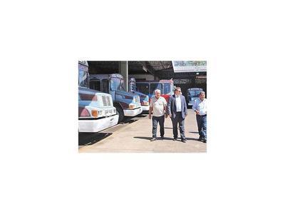 Dinatrán pide plan de cambio de ómnibus de corta distancia
