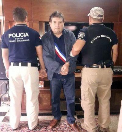 Capturan en su vivienda al supuesto capo narco Néstor Báez Alvarenga