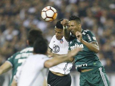 El Colo Colo de Lucas cae ante el Palmeiras en Chile