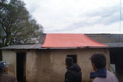 Granizada afectó a unas 100 viviendas en La Colmena