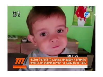 Brunito puede recibir riñón de donante mediante una acción judicial