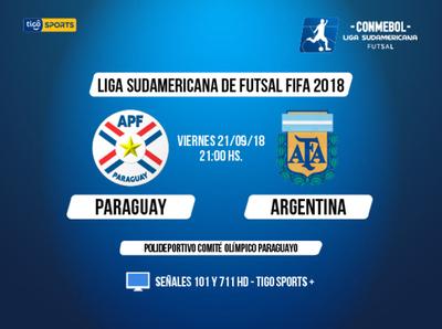Paraguay define ante Argentina
