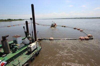 Inician dragado del río Paraguay en el puerto de Villeta